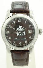NEU Disney Automatik-Armbanduhr, Mickey, Herren-Armbanduhr, Herren-Uhr, MI-CH-BR