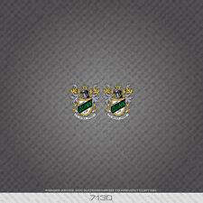 07130 Harry Quinn Bicycle Head Badge Stickers - Decals - Transfers