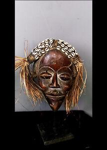 Old Tribal Dan Bagle  Mask    ---   Coted'Ivoire