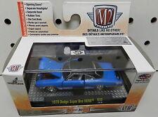 DODGE 1970 SCAT PACK BOYS SUPER BEE HEMI CORONET 426 BLUE MOPAR 70 R33 15-70 M2