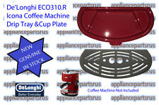 De'Longhi ECO310.R Icona Coffee Machine Drip Tray and Cup Plate - NEW - GENUINE
