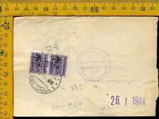 Regno Colonie Occupazioni Lubiana occ. Tedesca bollettino pacchi 1944 G 259