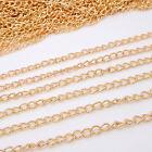 1 - 2m Chaine chainette 3 x 2mm petit maillon pour creation Bijoux, bracelet