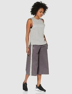 Under Armour Women's UA Featherweight Fleece Crop Pants size Small Grey