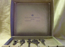 5 - Royal Dutch Silverworks Begeer Holland - Spoons Rare Spinning Windmill