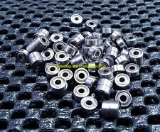 [10 Pcs] 682zz (2x5x2.3mm) Metal Double Shielded Ball Bearing Bearings 2*5*2.3