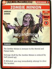Pathfinder Adventure Card Game - 1x Zombie Minion - The Skinsaw Murders