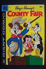Dell Giant, Bugs Bunny's County Fair #1 1957 Hi grade