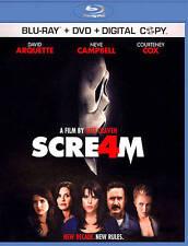 Scream 4 (Blu-ray/DVD, 2011, 2-Disc Set)