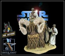 GENTLE GIANT PGM EXCLUSIVE STAR WARS BANTHA AND TUSKEN RAIDER STATUE