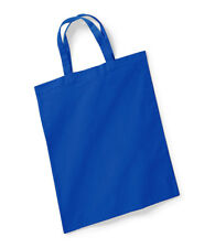 BAG FOR LIFE SHORT HANDLES - 10 Litre Capacity, 140gsm - (11 COLOURS)