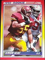 1990 SCORE RC Rookie Cards NFL Football Single-Inserts (290-657) Pick Your Card