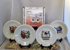 Fiestaware 12 Days of Christmas Set of 4 Salad Plates Fiesta First in Series NIB