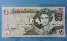 2008 East Caribbean $5 <P-47> GEM UNC
