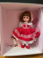 "8"" Madame Alexander Doll ""Doll Hospital Nurse"" 33575  With Box"