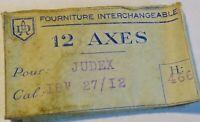 """Pezzo Orologio Judex 18 """" 27/12 Un Asse Da Bilanciere"""
