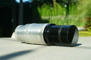 "SUPER RARE Dallmeyer 10 1/2"" F/6.7 Vintage Exakta Mount Telephoto Lens"