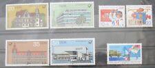 DDR Briefmarken 1982 Bauten der Deutschen Post, Pioniertreffen und Einzelausgabe