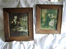 "Maes framed print "" Women Praying "" and "" Martha & George Washington "" ???"
