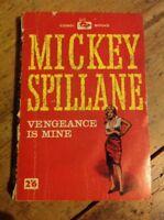 Vengeance is Mine by Mickey Spillane Vintage Crime Ppaerback Corgi Books