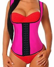 Latex Waist Trainer Corset Weight Loss Sport Body Shaper Tummy Control