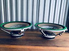 Vintage Wharfedale Super 12/FS/AL Full Range Speakers Pair 12 Ohms England Rare