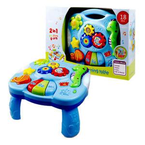 Neu Lerntisch Spieltisch Spielzeug Motorik Musik  Kinder Piano Baby