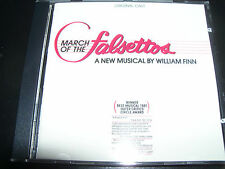 March Of The Falsettos A New Musical By William Finn Soundtrack CD - New