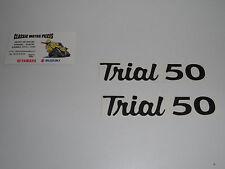 TY 50  YAMAHA  EMBLÈMES TRIAL 50