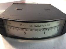 Westinghouse D-C Kiloamperes type Hx-252 0-1.5 Panel Meter