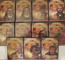 SAINTS ALIVE COMPLETE 11 DVD SET. AN EWTN NETWORK SERIES ON CATHOLIC SAINTS DVD