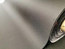Meterware Audi Auto Stoff Bezugsstoff Schwarz grob wie Carbon Look Optik kaschie