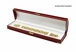 Novel Box™ Jewelry Bracelet Boxes in Leather and Suede (Assorted Models)
