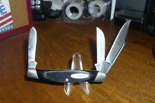 "Vint., 1967-1972 Buck 3-1/4"" Closed Stockman Cadet Knife, Sawn Phenolic Handles"