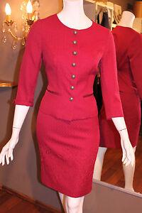 Sehr schönes MOTHWURF Kostüm Gr. 38 rot Jacke und Rock