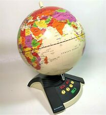 1997 ExploraToy GeoSafari World Interactive Talking Geography Quiz Game Globe