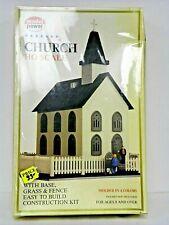 "Model Power Ho U/A ""Church"" Plastic Model Kit #613"
