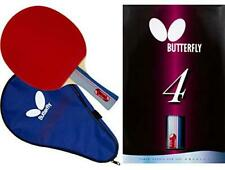Butterfly 401 Table Tennis Racket Set - 1 Ping Pong Paddle – 1 Ping Pong
