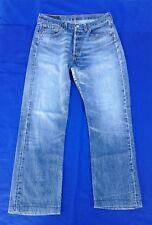 """Classic Vintage LEVIS 501 Blue Denim Jeans 30""""(76cm) Waist"""