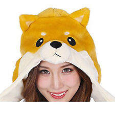 New Shiba Inu Cosplay Face Cap Hat Costume Halloween fast shipping