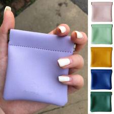 PU Leather Coin Purse Mini Short Wallet Bag Money Change Little Key Card Bags