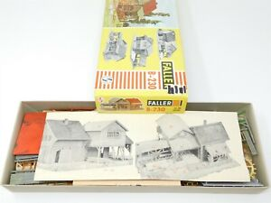 HO 1/87 Scale Faller B-230 Saw Mill Building Kit w/ Motor & Light