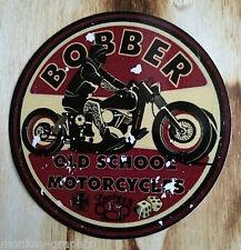 """Oldschool Sticker """" Bobber """"  Aufkleber Youngtimer / Biker / Harley / Chopper"""
