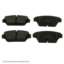 Napa TruStop D533 Rear Semi-Metallic Brake Pads