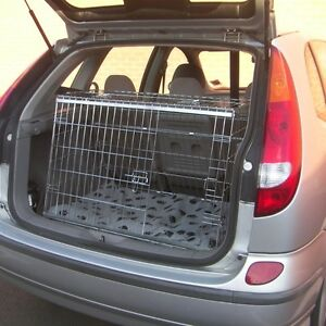 PET WORLD Nissan Almera 00-05 Sloping car pet puppy dog travel crate cage