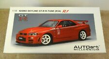 BRAND NEW 1/18 Autoart Nissan Skyline R34 GTR R Tune R1 RED - Stunning! L@@K!!!
