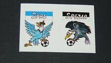 SPAL SPEZIA SERIE C FOOTBALL CALCIO 1987-1988 EUROFLASH ITALIA PANINI