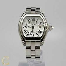 30mm x 36mm W62016V3 Cartier Roadster Ladies Stainless Steel
