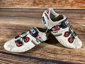 SIDI Road Cycling Shoes Road Bike Boots 3 Bolts Size EU44 US9 without cleats