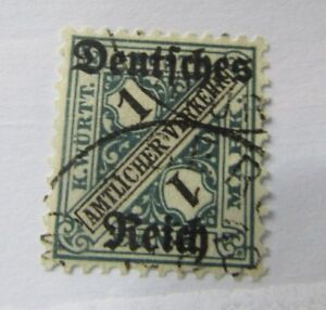 German State SC #O183 Wurttemberg official used stamp